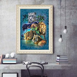 Arts,crafts & Sewing Reasonable Lion Zebra Elephant Giraffe Baby Animals 5d Diamond Embroidery Diy Diamond Painting Mosaic Full Round Drill Kids Decor Wall Art Diamond Painting Cross Stitch
