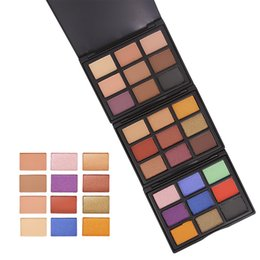 Colorful Makeup Palettes UK - Wholesale DHL 9 Color Eye Shadow Sexy Makeup Easy to Wear Long Lasting Earth Warm Colorful Matte Natural Palette Art Beauty Makeup Cosmetics