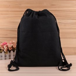 $enCountryForm.capitalKeyWord NZ - Kids' Clothes Shoes Bags 12 Style Drawstring Bag 210D Polyester Cloth Sport Gym Dance Backpack Adults Folding Storage Bag For Traveling M34F