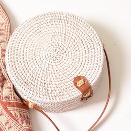 $enCountryForm.capitalKeyWord Australia - Beach Straw Bag Womens Purses and Handbags Ladies Hand Wicker Bag Shoulder Purse Female Handbag Crossbody Rattan Bags for Women