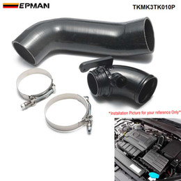 vw golf air UK - EPMAN Silicone Intake Pipe Air Hose & Aluminum Turbo Inlet Elbow For VW Golf MK7 GTI R MK3 A3 S3 EA888 Gen3 TKMK3TK01