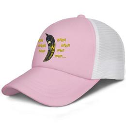 Cool Unisex Kids Hats Australia - Batman banana nana kids baseball caps Curved Teen baseball cap Youth pink cap cool hats hats