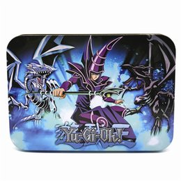 $enCountryForm.capitalKeyWord UK - Yugioh Cards Metal Box Packing English Version 66 PCS set The Strongest Damage Board Games Collection Cards Toy Kids toys DHL SS179