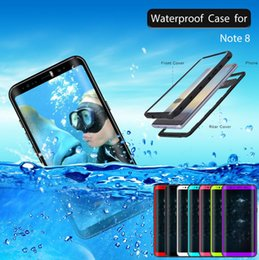 $enCountryForm.capitalKeyWord NZ - Snowproof Waterproof Diving Photograph Case Cover for Samsung Galaxy Note 8 Mobile phone Water proof cases C18112001