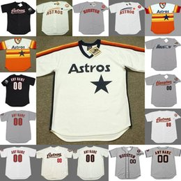 Jersey astros xl online shopping - Custom mens throw back Astros CARLOS CORREA GEORGE SPRINGER JEFF BAGWELL CRAIG BIGGIO KEN CAMINITI baseball jersey stitched S XL
