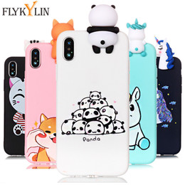 Silicone Toys Australia - For iPhone XS Max 7 Plus Case Unicorn Soft Silicone 3D Dolls Toy Cover on for iPhone 6 6s 7 8 X XR XS Max 5 5s Phone Cases Coque