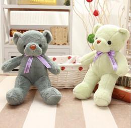 Cute brown bear online shopping - Stuffed Animals Teddy Bear Stuffed Animals cm Cute Baby Bear Toys Plush Toys Doll Soft Kids Wedding Ceremonies Kawaii Gift