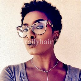 African Americans Red Hair Australia - Brazilian hair New Short Wigs for Women Pixie Cut Wig Women Brown Black Wine Red Cheap Afro Full African American Realistic Synthetic Wig
