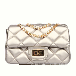 Single Cables Australia - Lucky2019 Real Small Bag Woman Tide Ins Exceed Fire Single Shoulder Chain Package All-match Cable Satchel