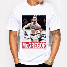 bbb4a5184 Men T-shirt Brand Mma Conor Mcgregor Funny T Shirt Boxer Fitness Crossfit  White Short Sleeve Casual Tees Hipster L9-d-49 Q190514