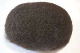 Afro Hair Men Australia - Hot selling popular afro curl men toupee short curly virgin brazilian hair afro curl full lace toupee for black men free shipping