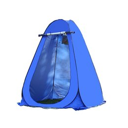 Dress Up Rooms Australia - Wholesale- Portable Pop Up Dressing Changing Tent Picnic Camping Beach Fishing Toilet Shower Room Privacy Tents + Carrying Bag Ship from US