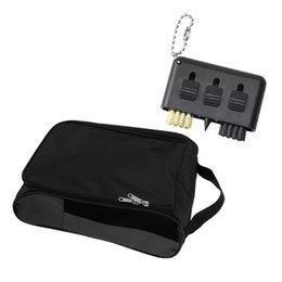 Golf Shoes sacchetto di viaggio del pattino della cassa del sacchetto Tote 2x1''Golf Brush Cleaner nero in Offerta