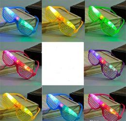 $enCountryForm.capitalKeyWord NZ - Juxu Light Up Glow Shutter Glasses LED Shades Flashing luminous Rave Wedding Hen Night Fancy Dress Concert Cheer atmosphere props Gift