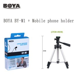 $enCountryForm.capitalKeyWord Australia - BOYA BY-M1 LM10 Lavalier Omnidirectional Condenser Microphone for IPhone Android for Canon Nikon DSLR Camcorder Audio Recorders