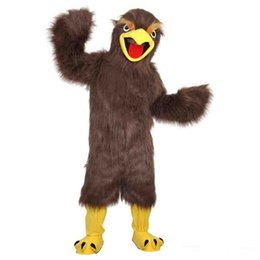 $enCountryForm.capitalKeyWord UK - New high quality Brown eagle Mascot costumes for adults circus christmas Halloween Outfit Fancy Dress Suit Free Shipping
