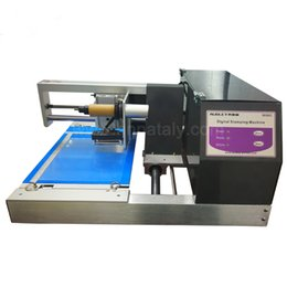 Stamp printer machine online shopping - Digital Foil Printer Flatbed Hot Stamping Machine