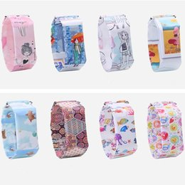 Hot 20 disegni Smart Paper intelligente orologio impermeabile Tyvek Magnetic LED Digital Braccialetti Orologi casual Bracciale per bambini ragazzi ragazze Donne