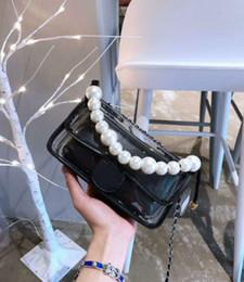 $enCountryForm.capitalKeyWord Australia - 2019 New Design PVC Shoulder Bag pearl Case Women Hot Fashion jelly Handbag diagonal female package size 25*18 with box