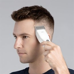 Wholesale 2021 Original Xiaomi Youpin ENCHEN Men's Electric Hair Clippers Cordless Adult Razors Professional Trimmers Corner Razor Hairdresse 3031710