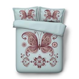 Super Sets NZ - Animal bedspread Butterfly Duvet Cover Set golden 3 Piece Bedding Set With 2 Pillow Shams Super Soft Comforter Cover Without Comforter