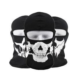 Motorcycle skull windproof online shopping - CS ghost masks Full Face skull Mask Motorcycle Biker Breathing Dustproof Windproof mask sport masks Tactical Skull Heads hood SN3277