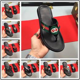 Thick Sole Sandals Australia - 19ss Summer Korean big size Tide Slippers Men Non-slip Cool Flip-Flops Breathable Thick-soled Sandals Slippers Toe Sandals