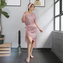 $enCountryForm.capitalKeyWord Australia - Egyptian Belly Dance Costume Galabeya Abaya Saidi Baladi Long Dress Girls Lady Perspective Dancewear Competition Practice Dress