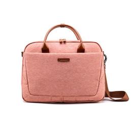 $enCountryForm.capitalKeyWord Australia - Laptop Bag Waterproof Notebook Bag For Macbook Air Pro Laptop Shoulder Handbag Briefcase Work Travel Tote Bag Men And Women MX190719