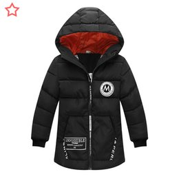 Down Parkas For Kids NZ - good quality boys winter warm outerwear fashion hoodies down parkas for kids casual clothing long style coats jackets for chidlren