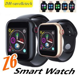 $enCountryForm.capitalKeyWord Australia - Z6 smartwatch for apple iphone Smart Watch Bluetooth 3.0 watches with camera Supports SIM TF Card for android smart phone PK DZ09 Z668