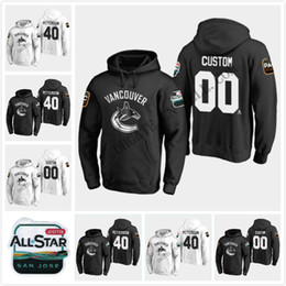 red star jersey 2019 - 40 Elias Pettersson Vancouver Canucks 2019 All-Star Game Hoodie Brock Boeser Bo Horvat Nikolay Goldobin Jacob Markstrom
