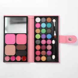 makeup sets box UK - New Style 33 Color Makeup Set Full Set Of Combination Beginner Makeup Box Multi-function Eyeshadow Palette