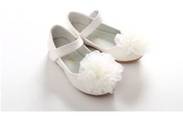 $enCountryForm.capitalKeyWord Australia - The spring of 2019 the new children's shoes BoBo Angel girl princess shoes leather soft face bud silk flowers solitary spring 2019 new child