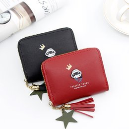 $enCountryForm.capitalKeyWord Australia - New Design Fashion Cartoon Coin purse woman's Wallets Ladies's Card Purse Women's Bag Zipper Wallet PU Leather Wallet Small Wallets