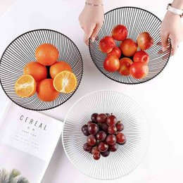 egg plush Australia - Metal Fruit Vegetable Storage Bowls Kitchen Egg Baskets Holder Nordic Minimalism d2
