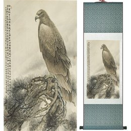 $enCountryForm.capitalKeyWord NZ - Eagle Painting Home Office Decoration Chinese Scroll Painting Eagle On Pine Tree Painting Eagle Picture Scgs120311