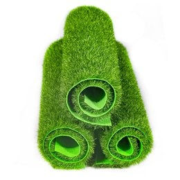 fake grass mats Australia - Green Artificial Lawns Turf Carpets Fake Sod Home Garden Moss Artificial Grass Mat For Home Floor Wedding Decoration