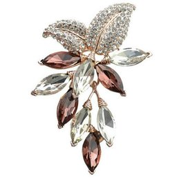 $enCountryForm.capitalKeyWord UK - Big Crystal Flower Large Brooch Grape Pins and Brooches Wedding Jewelry Bijouterie Corsage Dress Coat Accessories GA753