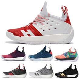 7eb7f5b5d94a 2019 New Top james harden 2 vol Men s Basketball Shoes High Quality Trainer  Sport Sneaker Running shoes size 7-12