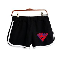 super hot clothes 2019 - 2019 Father's Day NEW 2D Print Super Dad Shorts Clothes Harajuku High Quality Ladies Hot Sale Sexy kawaii Shorts Pl