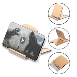 $enCountryForm.capitalKeyWord Australia - Portable Foldable Desk Mobile Phone Holder Stand for IPhone 7 8 IPad Huawei Samsung Tablet Desktop Dock Cradle Support Telephone