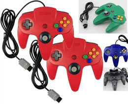 $enCountryForm.capitalKeyWord Australia - Long Handle Game Gaming Controller Pad Joystick Gamepad Red For 64 for N64 Retro Classic Design