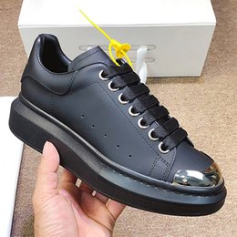 sub boxes NZ - Luxury fashion designer men's and women's shoes, sub-sneakers leather casual shoes, thick-soled sports shoes with original box QWT