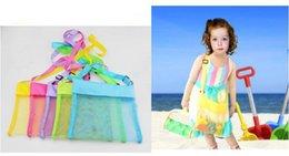 23 * 23 cm 26 * 26 cm Boşlukları Çocuk Örgü Kabuk Plaj seashell Çanta Çocuk Plaj Oyuncaklar Çanta Almak Örgü Sandboxes Uzakta 2 Boyutu indirimde