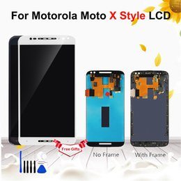 "lcd screen moto x NZ - 5.7"" For Motorola Moto X Style X Pure XT1572 LCD Display Touch Screen Digitizer Assembly For MOTO X Style XT1570 XT1575 Display"