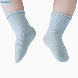 $enCountryForm.capitalKeyWord NZ - 3Pairs New spring and summer double needles loose mouth baby socks dispensing non-slip tube baby socks newborn