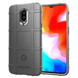 $enCountryForm.capitalKeyWord Australia - For OnePlus 6T 1+6T One Plus Case Cover Soft Hybrid Armor Silicone Rubber Rugged Matte Finished Non-Fingerprint Shield Air Cushion