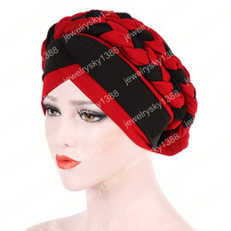 $enCountryForm.capitalKeyWord NZ - New Fancy Dress Women turban ladies head wrap caps Muslim Headwear Hat