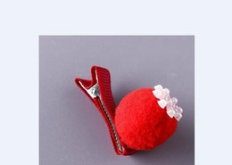 Coral Hair Accessories Australia - 113 Children's flower hair clip 10 piece set princess side chuck flower jewelry hair accessories